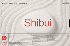Shibui - Sans Serif font Family Product Image 1