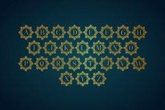 Diamond Mandala Monogram Split Font Duo Product Image 5