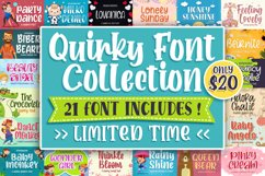 QUIRKY FONT COLLECTION Product Image 1