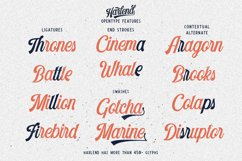 Harlend 6 fonts with extras intro Product Image 5