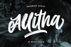 Allitha Handmade Script Product Image 1