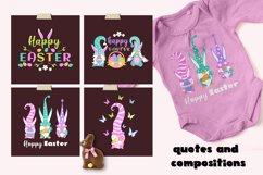 Easter gnomes SVG bundle. Product Image 4
