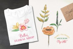 18 Spring Floral Blooms Clipart Watercolor Elements Pastels Product Image 2