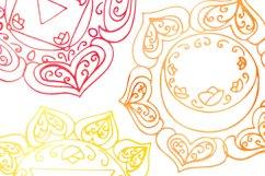 Watercolor chakras clipart 7 chakras set Yoga Meditation Product Image 5