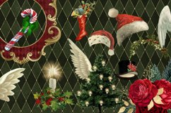 Christmas Alice In Wonderland Clipart Product Image 2