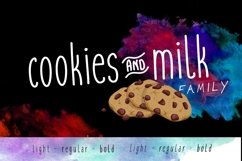 Cookies and Milk Family Product Image 1