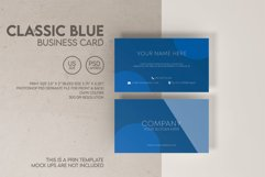 Classic Blue Business Card Product Image 1