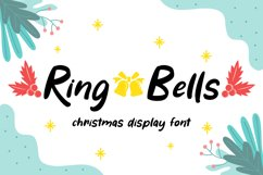 Ring Bells - Christmas Font Product Image 1