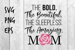 The Amazing Mom SVG design Product Image 1