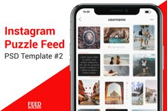 Instagram Puzzle Feed Template #2 Product Image 1