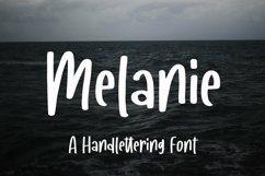 Web Font Melanie - A Handlettering Font Product Image 2