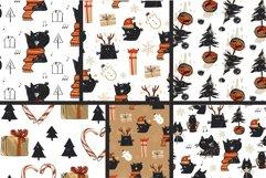 Christmas Black Cat Product Image 4