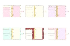 Planner Binder Clipart 2 Product Image 3