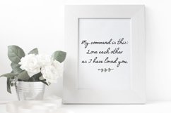 Friends Forever Font & Floral Extras Product Image 3