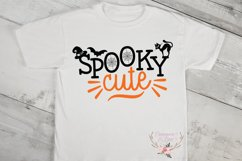 Spooky Cute Girl Halloween SVG Cut File Product Image 2