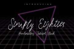Simply Eighties Typeface Product Image 1