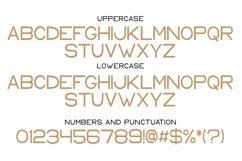 Web Font Keith - a modern sans serif font Product Image 4