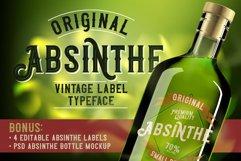 Original Absinthe Layered Font Product Image 1