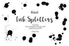 Real Ink Splatter PNG Product Image 1