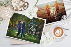 Love Story Monogram Font Product Image 2