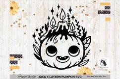 Jack o Lantern Pumpkin SVG Pumpkin face SVG Halloween Svg Cu Product Image 1