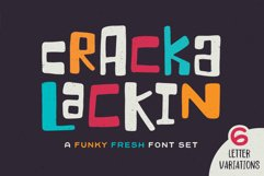 Crackalackin Font Set Product Image 1