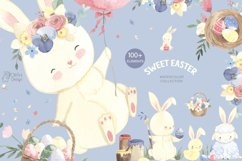 EASTER clipart. Watercolor set Product Image 1