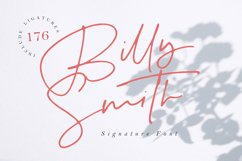 Billy Smith - Signature Font Product Image 1