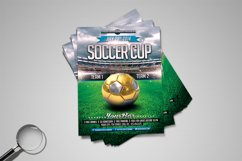 Soccer Cup | Modern Flyer Template Product Image 5
