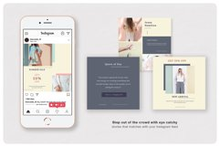 PRICILLE Instagram Pack | Canva, PSD Product Image 4
