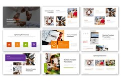 Lightening of Business Presentation Template Product Image 4