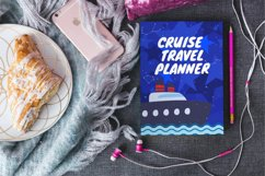 Cruise Travel Planner CUSTOMIZABLE CANVA TEMPLATE Product Image 6