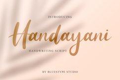 Handayani - Handwritten Script Beauty Product Image 1