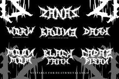 Zanaz - Deathmetal Font Product Image 6
