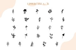 Floralia Floral Dingbat font Product Image 2