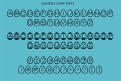 Easter Candy, a cute easter egg font in two styles Product Image 4