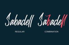 Sabadell   Modern Brush Font Product Image 2