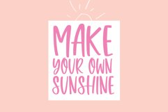 Sweet Sunshine - A Quirky Handwritten Font Product Image 8