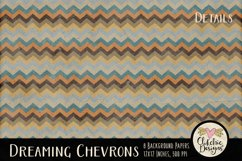 Dreaming Chevron Beachy Background Textures Product Image 3