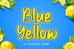 Blue Yellow Product Image 1