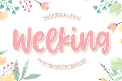 Welking - Handwritten Font Product Image 1