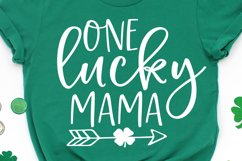 One Lucky Mama SVG, DXF, PNG, EPS Product Image 1