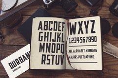 Durbank Font Product Image 5