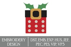Christmas Machine Embroidery Design Product Image 1