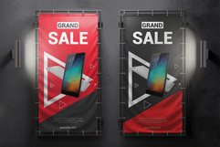 Vertical Outdoor Advertising Banner Mockup Product Image 4