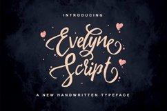 Evelyne Script Product Image 1