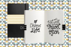 Motivational Vector Letterings Product Image 3