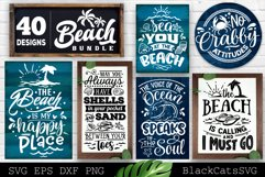 Beach Bundle SVG 40 designs Summer SVG bundle Product Image 1