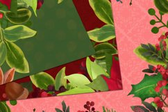 Christmas digital papers - Royal Christmas wreath Product Image 2
