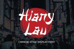 Hiany Lau - Chinese Display Font Product Image 1